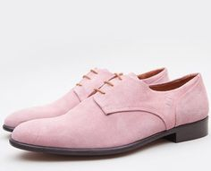 Finlay Pink Suede Shoes by Folk