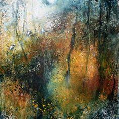 Stewart Edmondson The Brilliant Tangle Acrylic on Paper 44 x 52cm.