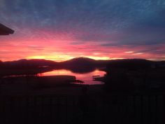 Gorgeous winter sunrise on Cherokee Lake!