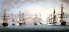Tim Thompson. The Battle of the Nile. J. Russell Jinishian Gallery, Inc.