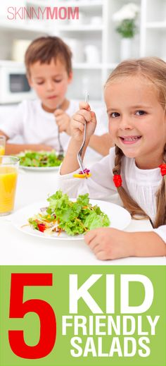 Get your kids to eat salad with these kid friendly salads