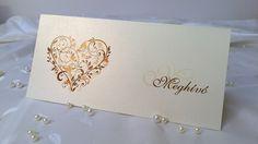 LA4 57 – Esküvői meghívók Place Cards, Place Card Holders, Projects, Log Projects, Blue Prints