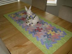 easter quilting projects | Easter Table Runner by applekrisp | Quilting Ideas