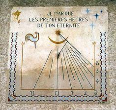cadran solaire Saint Véran