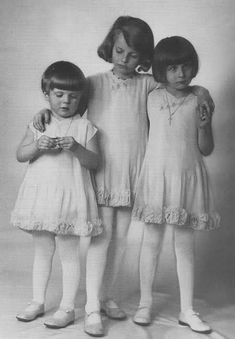 Helene, Maria Theresia and Maria Ferdinanda