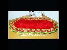 # [Versão Destro] Tapete Império - Pink Artes Croche by Rosana Recchia - YouTube
