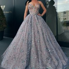 Ball Gown Prom Dresses Sweetheart Rhinestone Long Sparkly Prom Dress · SexyPromDress · Online Store Powered by Storenvy Sweet 16 Dresses, Elegant Dresses, Pretty Dresses, Ball Gowns Prom, Ball Dresses, Evening Dresses, Dresses Dresses, Party Gowns, Formal Dresses