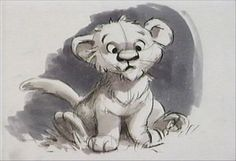 Lovely Simba Living Lines Library: The Lion King (1994) - Character: Simba