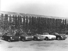 Ferrari Factory Photos, Vintage and Recent