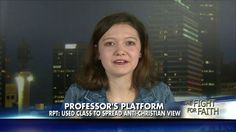 Student: Professor Gave Me Zeros for Refusing to Condemn Christianity
