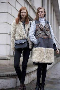 Street style at London fashion week autumn/winter '14/'15 gallery - Vogue Australia