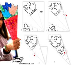 Paper BOUQUET for someone special