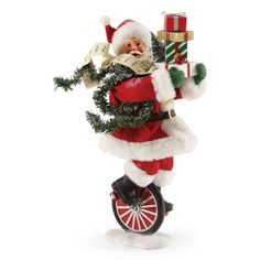 Loving this Santa Christmas Peddler Figurine on Santa And Reindeer, Santa Christmas, Christmas Stockings, Christmas Holidays, Christmas Wreaths, Xmas, Christmas Ornaments, Santa Clause, Father Christmas