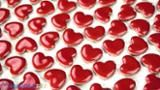 Merola Tile Hearts Glossy Red 11-1/8 in. x 11-3/8 in. x 5 mm Ceramic Mosaic Tile FXLHTRD at The Home Depot - Mobile