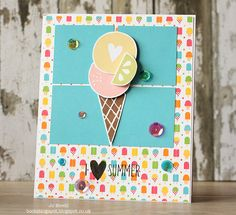 Fun card created by Jo for the Simon Says Stamp Wednesday challenge (Food or Drink) using SSS exclusives.