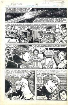 Star Wars Weekly #108 pg. 2 by Carmine Infantino Comic Art
