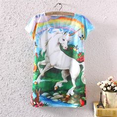 CuteFTW: More cute at the cutest online store around: Adorable Unicorn ... - Click the link to purchase it now: http://cuteftw.com/products/adorable-unicorn-with-woodland-creatures?utm_campaign=social_autopilot&utm_source=pin&utm_medium=pin