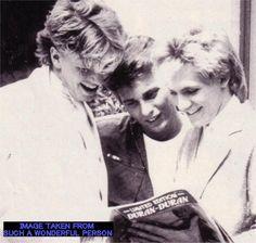 Oh look thats us... Duran Duran
