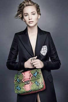 Jennifer Lawrence Miss Dior Campaign