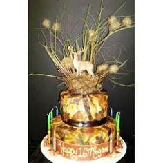 Cake idea for a hunter