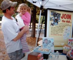 John Mark Eager, Mailbox Club Director, tells his daughter about The Mailbox Club! She has now joined the Club!