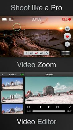 Videon - Video Camera with Zoom, Pause, Filters, Effects and Editor Lucky Clan 동영상 필터