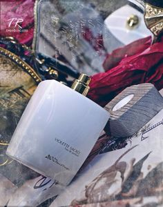Eau de parfum Violette sacrée  Collection les inédits  Au Pays de la Fleur d'Oranger