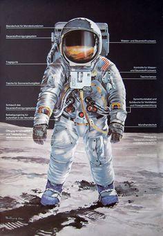 Retro-Futurismus: Klaus Bürgle - Weltraumfahrt II