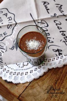 Perfect Housewife - to be: Gezonde chocolade milkshake!