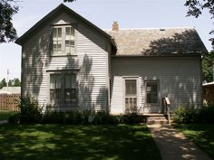 Laura Ingalls Wilder's home in DeSmet SD (built by Pa)