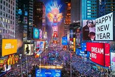 HAPPY NEW YEAR! from Times Square!!