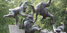 Bildergebnis für Bronzeplastik Garden Sculpture, Bronze, Outdoor Decor, Home Decor, Wax, Clay, Steel, Silver, Decoration Home