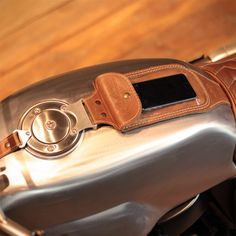 I honestly appreciate the things that these guys did to this specialty Cafe Racer Tank, Cafe Racer Parts, Custom Cafe Racer, Cafe Bike, Cafe Racer Bikes, Cafe Racer Build, Guzzi V7, Moto Guzzi, Motorcycle Tank