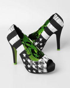 Abbey Dawn X Iron Fist Avril Lavigne Rockstar Platform Heels