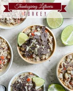 Thanksgiving Leftovers: recipes to revamp turkey {Handcrafted Parties}