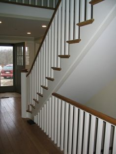 Hardwood Design - Gallery of New England Custom Staircases - Newels & Balustrades