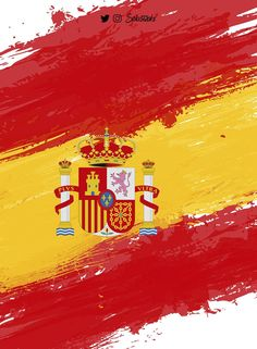 Spain wallpaper by splastroke - - Free on ZEDGE™ Iphone 6 Wallpaper, Geometric Wallpaper, Cool Wallpaper, Spanish Flags, Spain Flag, Inspirational Wallpapers, Flags Of The World, Travel Pictures, Travel Photos