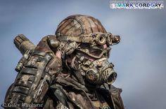 Post Apocalyptic LARP costume made by Mark Cordory Creations www.markcordory.com Photo courtesy & © Giles Warhurst 2015
