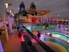 Norwegian Cruise Lines Epic is the biggest and packs tons of fantastic features for the ultimate adventure freestyle cruising Best Cruise, Cruise Tips, Cruise Vacation, Vacation Spots, Norwegian Epic, Norwegian Cruise Line, Ncl Epic, Epic Pools, Cruise Holidays