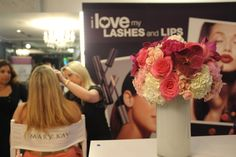 Behind the scenes with Mary Kay in the Lifestyle Retreat Lounge at Miami Swim Week.