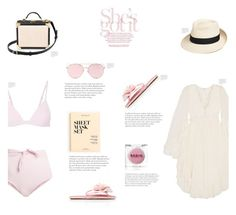 Mustique by canvas-moods on Polyvore featuring polyvore fashion style Chloé Mara Hoffman Miu Miu Aspinal of London Eric Javits LMNT J.Crew Rodin clothing