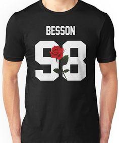 Corbyn Besson - Rose Unisex T-Shirt