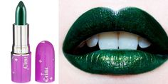 lime crime serpentina most beautiful green lipstick