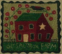 Punchneedle Patterns - patterns by teresa kogut