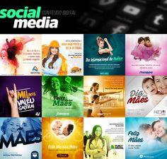 Social Media on Behance Social Media Challenges, Social Media Art, Social Media Digital Marketing, Social Media Banner, Social Media Template, Social Media Design, Social Media Packages, Instagram Promotion, Instagram Banner