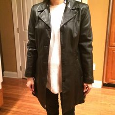 Pelle Studio 100% leather jacket A beautiful leather jacket in great condition. More photos upon request. Feel free to place offers and ask questions. Listed as Andrew Marc for exposure. Andrew Marc Jackets & Coats