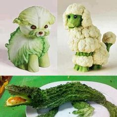 This will get the kids to eat their greens...just takes a bit of time and practice ;-)
