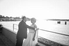 Hochzeit an der Elbe in Hamburg <3