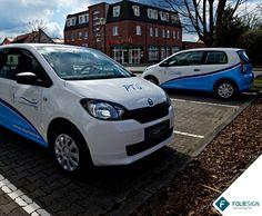 Fahrzeugfolierung • Skoda Citigo [by FOLIESIGN • www.foliesign.de] #CarWrapping #Skoda