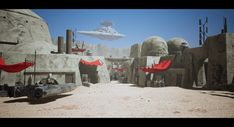 Images Star Wars, Star Wars Rpg, Life On Mars, Unreal Engine, Environmental Art, Art Portfolio, Wild West, Game Design, Game Art